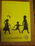 Wartena, J. - De Zevenboom + boekenlegger, routekaart / op de vlucht in de wereld van Romeinen en Germanen