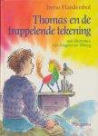 Hardenbol, Irene - Thomas en de trappelende tekening. Illustraties van Magda Verburg