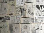 Straaten, Peter van - Aantal (35) knipsels: politieke cartoons van Peter van Straaten