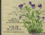 Press / Sutton / Tebbs - Wilde  planten van West-en midden Europa, veldgids voor nauturliefhebbers, flora met honderden aquarellen van planten