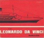 Italian Line - Brochure T/V Leonardo da Vinci Italian Line