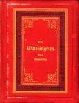 HAMERLING, ROBERT - Die Waldsängerin. Novelle