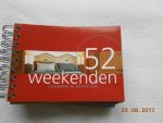 Brik, E. - 52 zondagen wandelen en lunchen & 52 weekenden &  52 natuurwndelingen