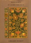 N.N.(ds2002) - Manuscrits et Livres Precieux Catalogue XVI