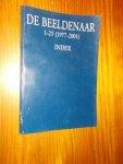 red. - De Beeldenaar 1-25 (1977-2001) Index.