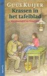 Kuijer, Guus - Krassen in het Tafelblad, met tekeningen van Mance Post, Bekroond met de Gouden Griffel, 101 pag. kleine hardcover, zeer goede staat