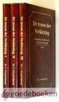 Vroegindeweij, Ds. L. - De troost der verkiezing - 3 delen --- Pastorale behandeling van de Dordtse Leerregels