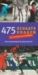 Couwenhoven Ron / Korver, Henny - 475 schaatsvragen. Test uw kennis van de schaatssport.