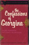 Robinson, Julian (The Comte du Bouleau) (introduction by Geoffrey Lowndes) - The Confessions of Georgina