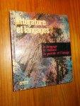 MITTERAND, H. (ED.), - Litterature et langages. La langage. Le Theatre. La parole et l`image.