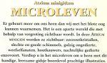 Greenaway, Theresa - Artrium minigidsen: MICROLEVEN