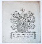 - Wapenkaart/Coat of Arms Bouwens.