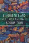 Cook, V. - Linguistics and Second Language Acquisition