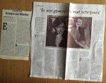 Kamp, Hans van der - Aantal (2) artikelen over Hans van der Kamp