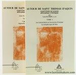 Elders, Leon. - Autour de Saint Thomas d'Aquin. Recueil d'etudes sur sa pensee philosophique et théologique. (2 volumes).