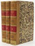 Blanc, Louis. - Révolution Française. Histoire de dix ans 1830-1840. [ 7 parts in 3 volumes ].