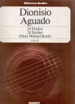 Koch, Hans Michael (ds1207) - Dionisio Aguado 1784-1849 24 Studies for guitar