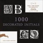 auteur onbekend - 1000 DECORATED INITIALS - CD ROM