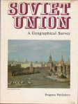 - Soviet Union. A geographical Survey