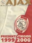 Ajax Magazine - Ajax Presentatiegids 1999-2000 + Uitvouwbare Poster Selectie Ajax, 242 pag. softcover, zeer goede staat