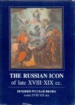 N/N (ds1370) - The Russian Icon of late XVIII-XIX cc.