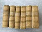Giacomo Casanova - Die Erinnerungen des Giacomo Casanova in sechs Bänden, vollständig übertragen von Heinrich Conrad Bnd 1 - 6