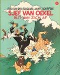 Boogaard, Theo van den & Wim T. Schippers - Sjef van Oekel 04, Sjef van Oekel Bijt Van Zich Af, softcover, gave staat