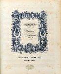 Beethoven, Ludwig van: - [Sammelband André-Gesamtausgabe] Sonates pour le pianoforté. Op. 31/1-3, 49/1-2, 53, 54, 57, 77-79, 81, 90, 101, Bagatelles op. 33