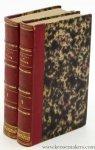 Schiller, Friedrich von / M. X. Marmier. - Théatre de Schiller, traduction nouvelle précédée d'une notice sur sa vie et ses ouvrages par M. X. Marmier [ 2 volumes ].