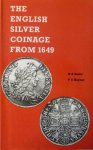 Seaby, H.A. en Rayner, P.A. - The English silver coinage from 1649