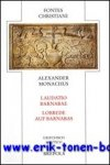 B. Kollmann, W. Deuse (eds.); - Alexander Monachus Laudatio Barnabae - Lobrede auf Barnabas,