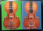Samuel & Sada Applebaum - The Way They Play   Illustrated discussions with famous artists & teachers   Book 1  + Book 2