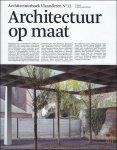 Sofie De Caigny - ARCHICTUURBOEK VLAANDEREN nr 12    Architectuur op Maat