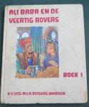 Hildebrand, A.D. en Nieuwenhoven, Wim van ills. - Ali Baba en de veertig rovers Boek 1