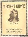 durer, albrecht - albrecht durer 1471-1528, 32 tekeningen uit zijn werk gekozen