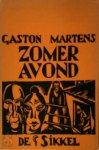 Gaston Martens 10484, Henri Van Straten 248522 - Zomeravond Toneelspel in één bedrijf