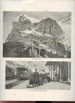 -- - Die Jungfrau und Jungfraubahn. 92 Illustrationen. Lauterbrunnen, Wengen, Wengernalp, Kleine-Scheidegg und Jungfraubahn