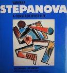 Lavrentiev, Alexander - Varvara Stepanova. A Constructivist Life.