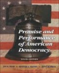Bond, Jon R.; Watson, Richard A.; Smith, Kevin B. - Promise and performance of american democracy