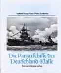 Koop, G. and K.P. Schmolke 1993 Bonn, hardcover with dustjacket 294 pages, with photo's and plans of the ships. History. ISBN 3763759190 In mint condition. German language - Die Panzerschiffe der Deutschland-Klasse
