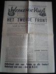 Krant NSB - 't Werkende Volk, Strijdblad voor de Nationaal-Socialistische Beweging in Amsterdam