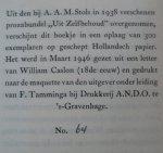 Roland Holst, A. - De dichter, de persoonlijkheid en het karakter