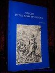 VERVENNE, M.; - STUDIES IN THE BOOK OF EXODUS,