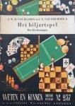 Haaren, A.W.H. van en Hoek, J.E. van der - Het biljartspel, met 42 tekeningen
