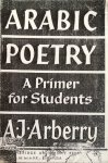 Arberry, A.J. - Arabic poetry; a primer for students (English and Arabic)
