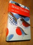 Simms, Eric - British Thrushes (NN63)