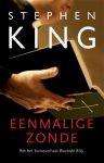 King, Stephen - Eenmalige Zonde (cjs) Stephen King NL-talig ISBN 9789024533282. Klein boek met harde kaft op pocketformaat, is misschien wel gelezen, maar dat is dan niet te zien: als GLOEDNIEUW en in prachtige staat.