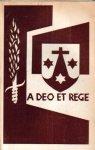 Baar, Dr. P. van den (inleiding) - A Deo et Rege (De eerste Roermondse Karmel 1698-1797). Documentenstudie.