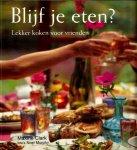 - BLIJF JE ETEN - Maxine Clark - lekker koken voor vrienden, 144 blz. - uitgeverij Terra