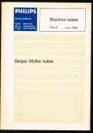 Philips - 6 part 6 Electron tubes july 1980 ; Geiger-Mullertubes
